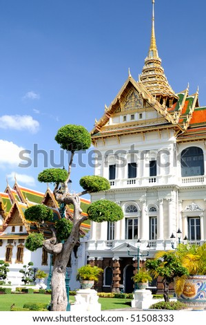 Grand palace in Bangkok, Thailand