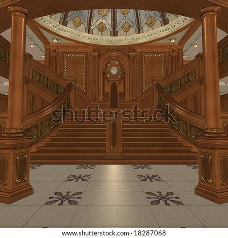 Grand Staircase - stock photo