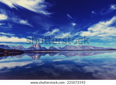 Grand Teton National Park - stock photo