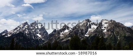 Grand Teton National Park panorama