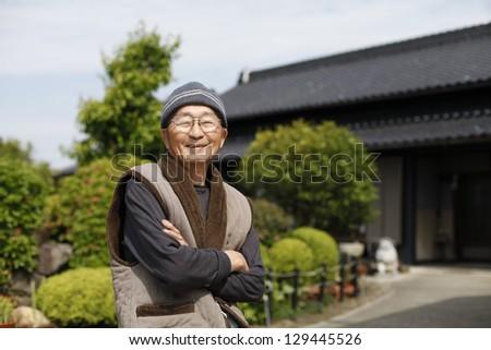 Grandpa - stock photo