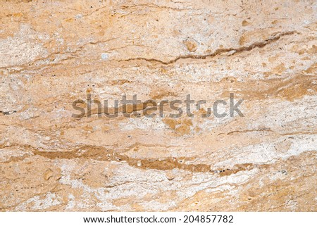 Granite background. Beige granite with natural pattern. - stock photo