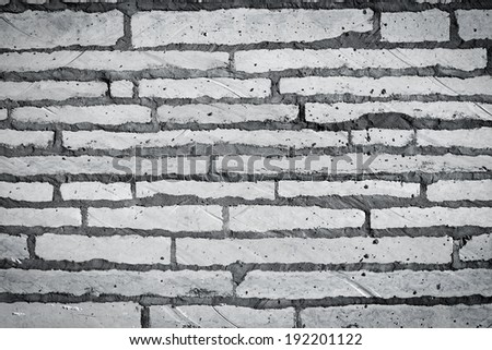 Granite flagstone pavement wall background texture - stock photo
