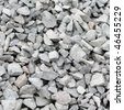 Granite gravel texture - stock photo