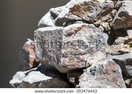 granite stones - stock photo