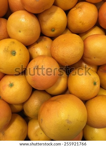 Grapefruits background, Healthy food concept - stock photo