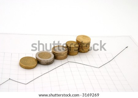 graph and coins