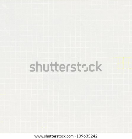 graph grid hand drawn scale paper background - stock photo