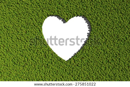 graphic create by tree for the natural concept - stock photo