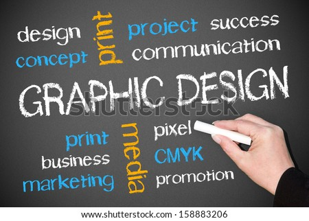 Graphic Design - stock photo