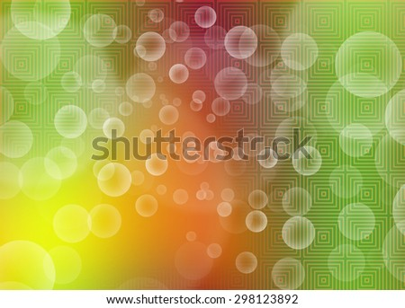 Graphic Design Useful For Your Design. Bright Summer Background - stock photo