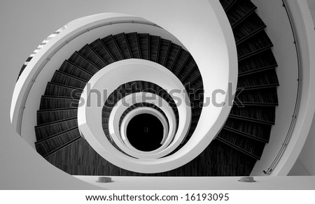 Graphic stairs detail - stock photo