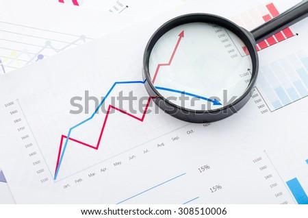 Graphs - stock photo