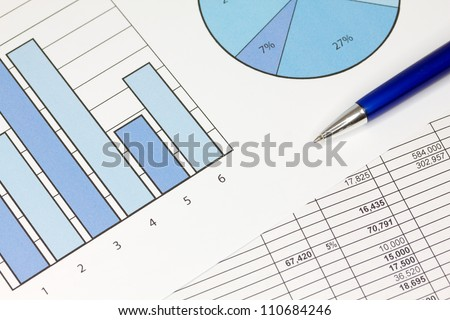 Graphs with Spreadsheet of figures and Pen