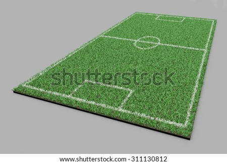 grass line football field soccer field