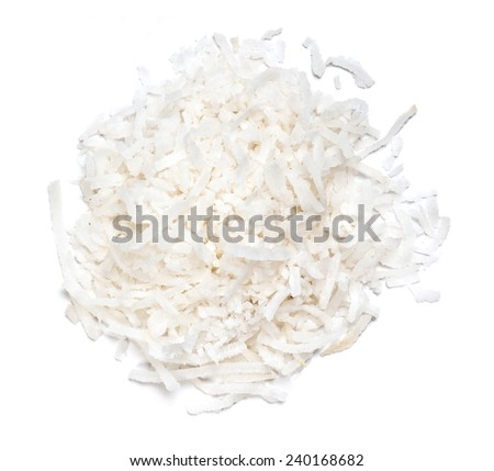 Grated Coconut - stock photo