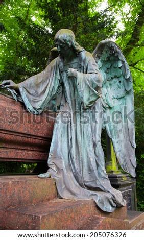 Grave  - stock photo