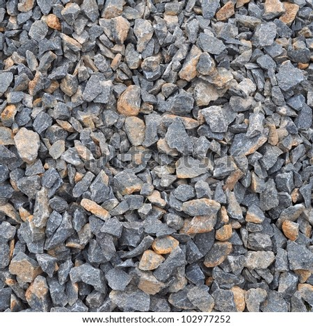 Gravel texture pattern useful as a background - stock photo