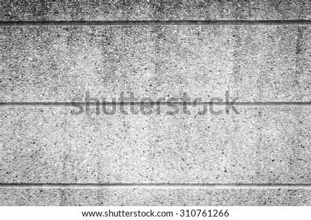 gravel wall texture - stock photo