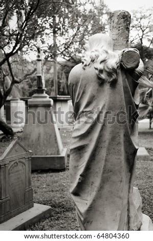 Graveyard - stock photo
