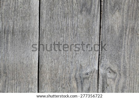 Gray aged wooden background closeup - stock photo