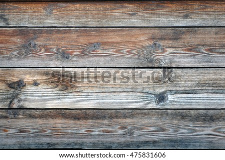 Gray and brown texture of an old wooden surface. Material background.