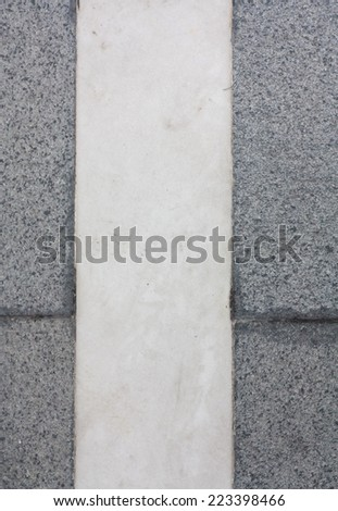 Gray and white color marble background - stock photo
