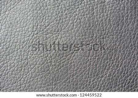 Gray Artificial Leather Texture - stock photo