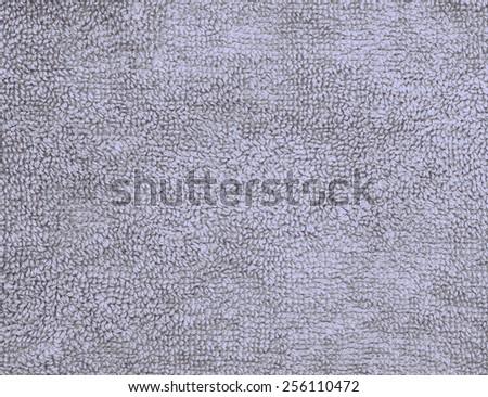 Gray blue vintage towel texture background - stock photo