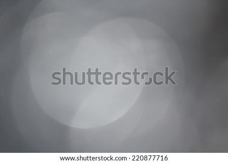 Gray bokeh - stock photo