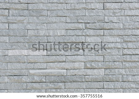 gray brick wall texture background / Brick wall texture