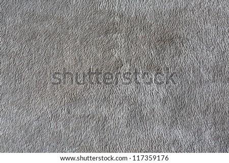 Gray carpet texture - stock photo