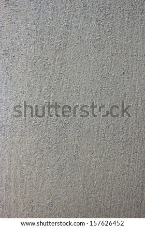 Gray Cement Wall - stock photo