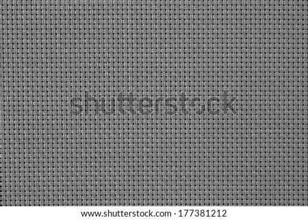 Gray cotton fabric texture background. - stock photo
