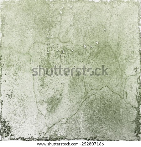 Gray cracked wall texture background - stock photo
