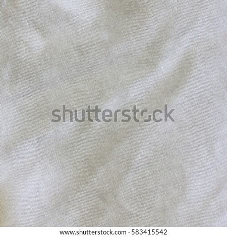 Gray Crumpled Linen Texture For Background.