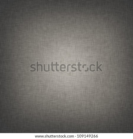 gray fabric texture, canvas background with bright beam of light - stock photo