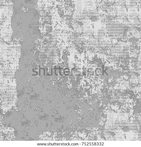 Gray grunge background. Abstract monochrome seamless texture