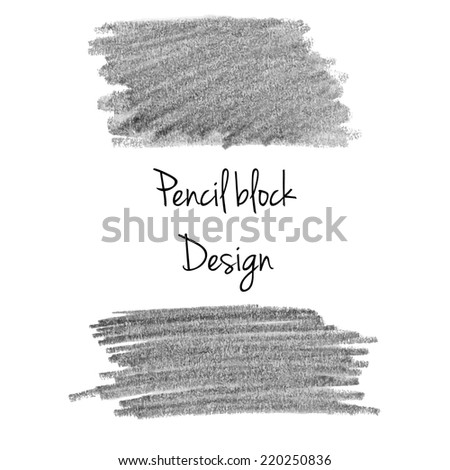 Gray pencil background template - stock photo