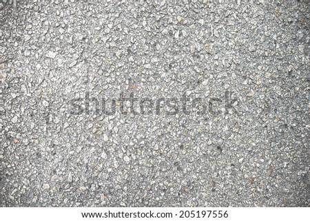 Gray Road Texture - stock photo
