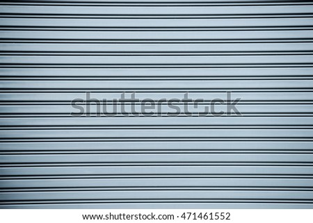 gray roller metal door background