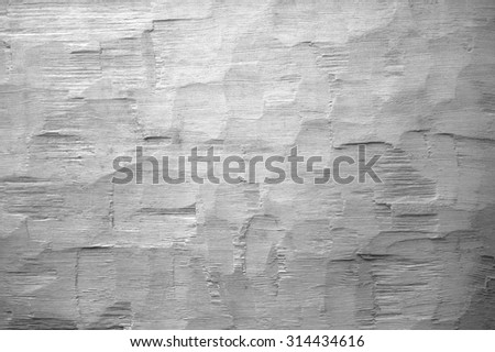 gray scale axe hewn background - stock photo