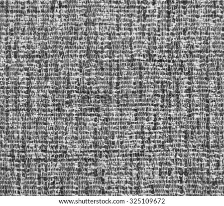 Gray Sofa Fabric Texture - stock photo