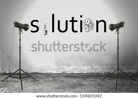 gray solution  - stock photo
