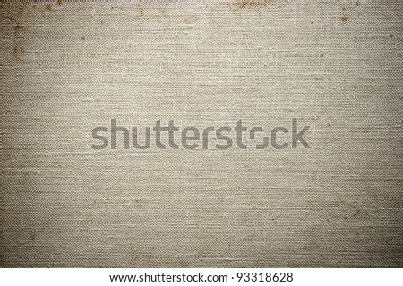 Gray stained fabric texture for background - stock photo