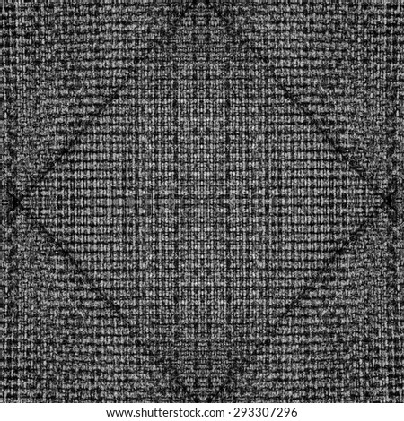 gray textile texture, seams in shape of rhombus