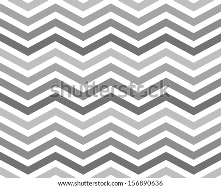 Gray Zigzag Pattern Background that is seamless and repeats - stock photo