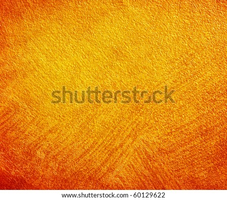 Great background made with a texture of a orange wall - stock photo