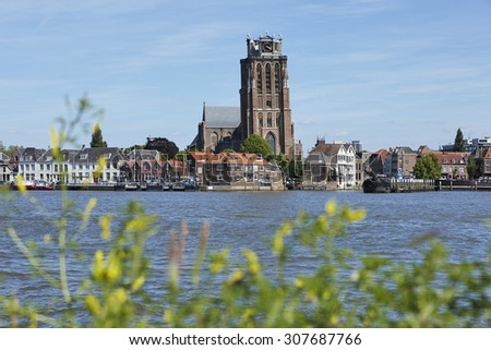 Great Church of the city of Dordrecht, province Zuid-Holland, the Netherlands
