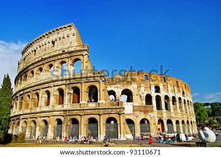 great Colosseum - stock photo